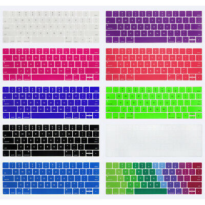 Protector Film English Language Letter Keyboard Cover For MacBook Pro 13 15