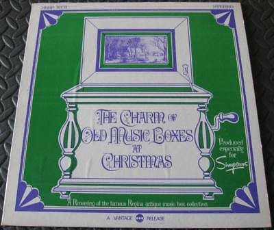 Charm Of Old Music Boxes At Christmas - Rare Simpsons Store LP SLBP-1031 Canada