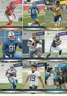 2019 Panini Prestige Football Rookie MIKE WEBER RC #279 Cowboys