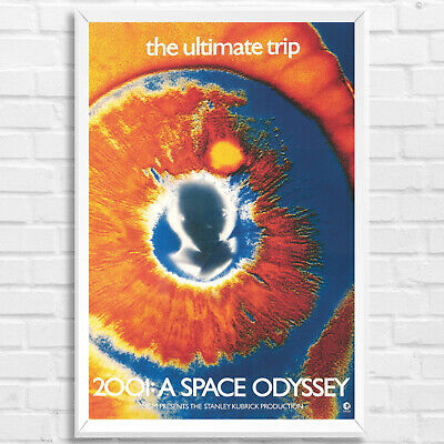 2001 A Space Odyssey Astronaut Framed Collector Print Sci Film 30x40cm12x16