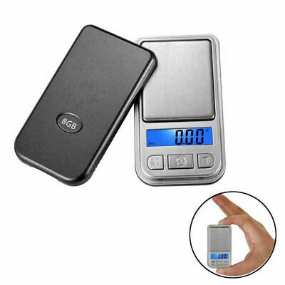 Portable Mini Digital Scale Jewelry Pocket Balance Weight Gram LCD 200g x 0.01g