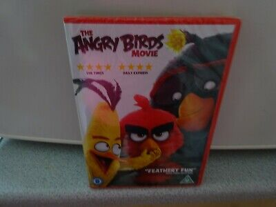 Dvd:   The Angry Birds Movie.