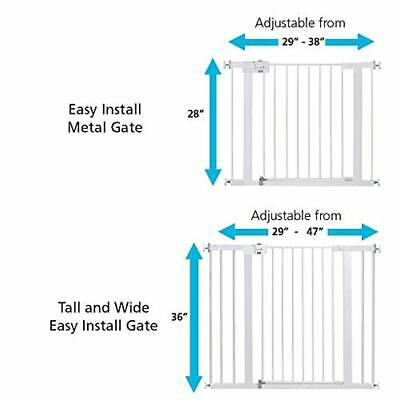 Safety 1st Easy Install Extra Tall and Baby Gate with Pressure Mount Fastening