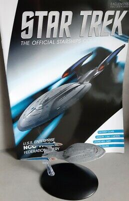 Star Trek U.S.S Enterprise NCC-1701-F Starship Bonus Edition 13 Eaglemoss englis