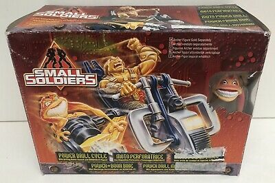 Moto Perforatrice Drill Cycle Small Soldiers + figurine - Kenner 55176 - Neuf