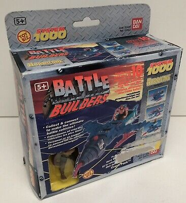 Battle Builders - Hurricane Ouragan + figurine - System 1000 Bandai 21412 - Neuf