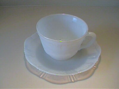 Vintage 1930'S Monax American Sweetheart Cup And Saucer - Depression Glass