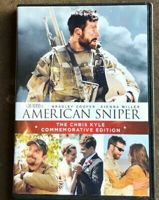 AMERICAN SNIPER (2-DISC DVD, 2014, Chris Kyle Commem  Special Ed