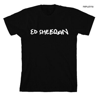 Official T Shirt ED SHEERAN No. 6 Collaborations Album  'Black Logo'  All Sizes