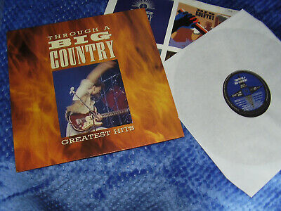 Big Country - Through a big country (Greatest Hits) - Vinyl LP album 1990