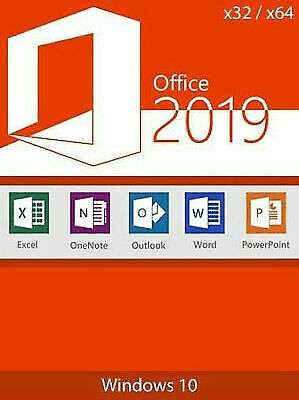 Microsoft Office 2019 Pro-Plus Genuine Lifetime License for PC Window