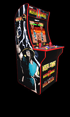 Mortal Kombat Arcade Machine,  4ft (Includes Mortal Kombat I,II, III)