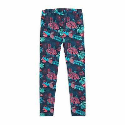 Animal Mixie Pixie Girls Pants Leggings - Patriot Blue All Sizes