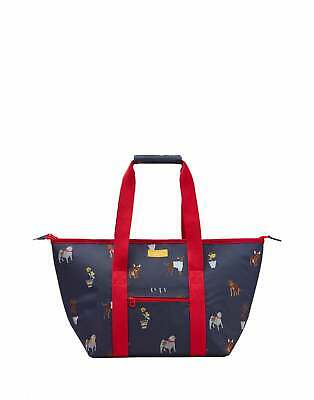 Joules Picnic Carrier Bag Lunch - Blue Dogs One Size