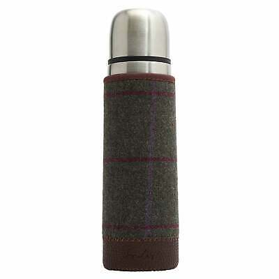 Joules Tweed Picnic Thermos Accessory Flask - Green One Size