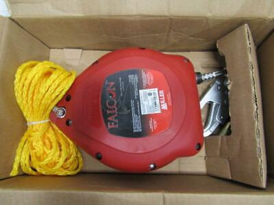 Miller Falcon 30Ft Galvanized Rope Self-Retracting Lifeline Red  MP30G-Z7/30FT