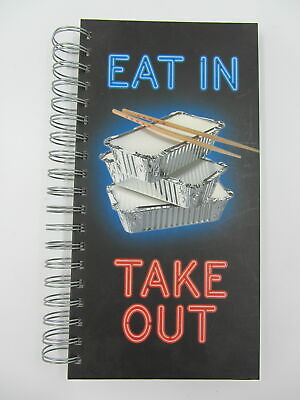 Eat In Take Out Takeaway Phone Address Book