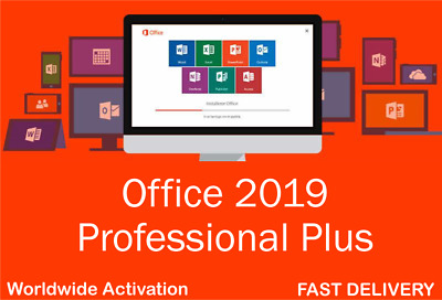 Microsoft Office Pro Plus 2019 Key for PC