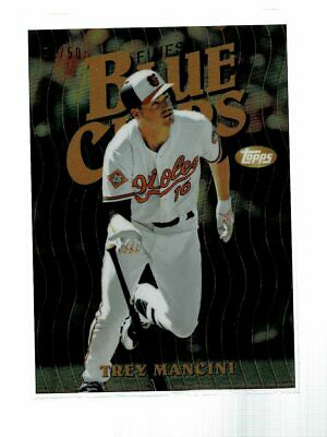 2019 Topps Finest Trey Mancini Blue Chips Gold Refractor #33/50 (CD)