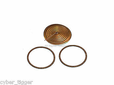 Edison Model K (2 & 4 minute)  Reproducer Copper Diaphragm and Cork Gaskets Kit