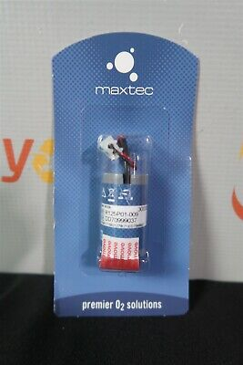 Maxtec R125P01-009 Oxygen O2 Sensor Cell Max-250 Internal Medical Replacement
