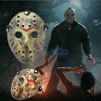 Halloween Cos Party Mask Jason Voorhees Friday The 13th Horror Movie Hockey Mask
