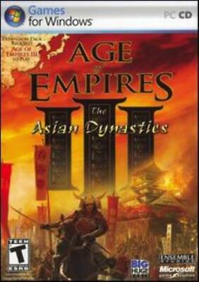 AGE OF EMPIRES 1 + Conquest of Ages Expansion PC CD war
