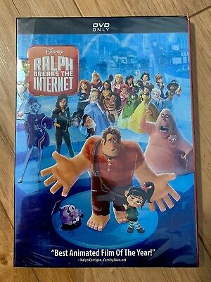 Disney: Ralph Breaks the Internet DVD (2018) ***GREAT DEAL** **FREE SHIPPING**