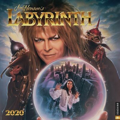 Jim Henson's Labyrinth Movie 12 Month 2020 Photo Wall Calendar NEW SEALED