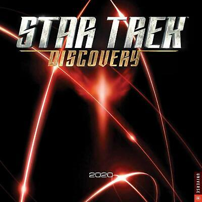 Star Trek Discovery TV Series 12 Month 2020 Photo Wall Calendar NEW SEALED