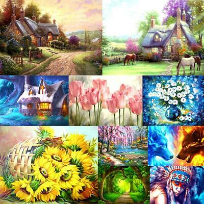 5D DIY Full Drill Diamond Painting Cross Stitch Embroidery Craft Wall Art  Decor