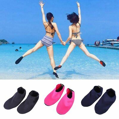 Women Men Water Shoes Aqua Socks Diving Sock Wetsuit Non-slip Swimming Beach Sea