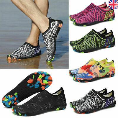 Unisex Water Shoes Aqua Shoes Beach Wet Wetsuit Shoes Swimming Surf Shoes Sea UK