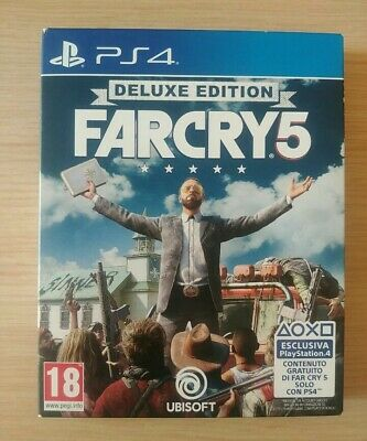 Far Cry 5 Deluxe No Resident Evil Ps4 Xbox One Watchdogs Red Dead Redemption