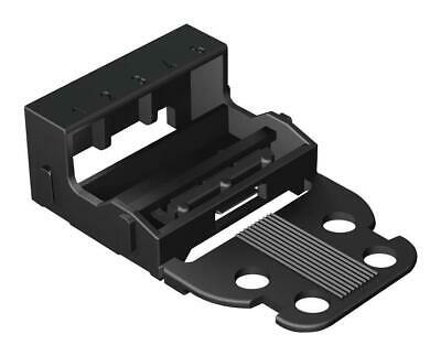 5-Way Mounting Carrier, 4mm, Black - WAGO 221-505/000-004