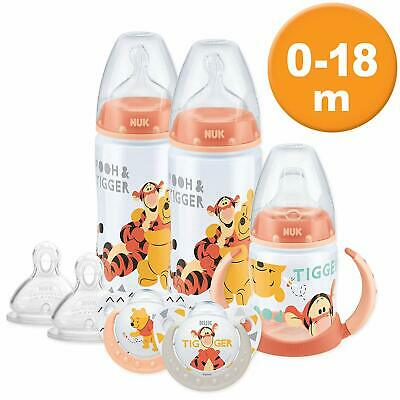 NUK Disney Baby Bottle, Soother & Sippy Cup Set, 0-18 Months, Winnie the Pooh 2