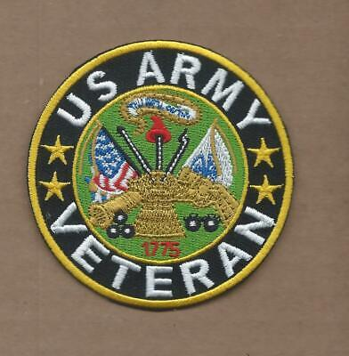 0859 ARMY VETERAN Embroidered Patch U.S