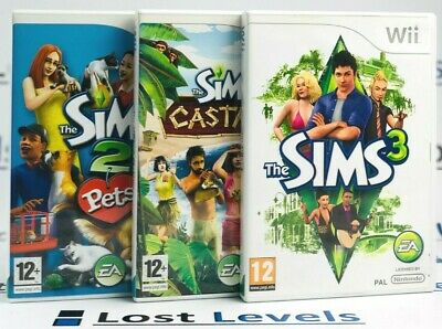 Wii - The Sims Series - Same Day Dispatched - Boxed - VGC - Nintendo