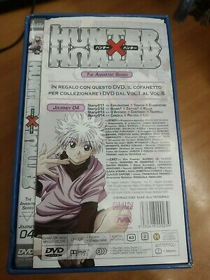 Dvd Hunter X Hunter Vol.4 Box 1  Shin Vision