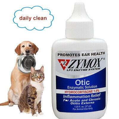 ZYMOX Pet King Brand Otic Pet Ear Treatment with Hydrocortisone1%,easy to use!