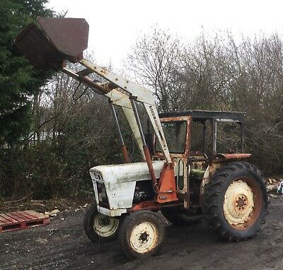 David Brown 990 Selectamatic Tractor with Loader nr Brighton Delivery Available
