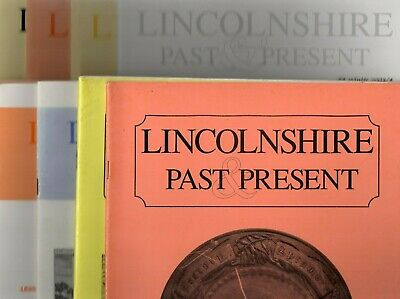Lincolnshire Past & Present job lot books journals local history non fiction
