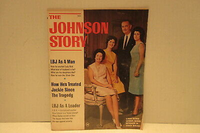 The Johnson Story 1964 Magazine President L B Johnson and Lady Bird USA