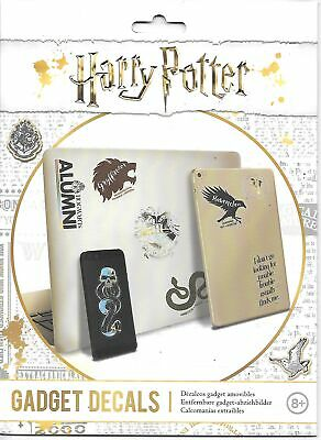 Harry Potter Logos and Phrases 21 Waterproof and Removable Gadget Decals SEALED