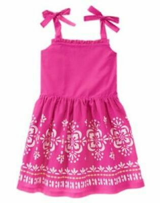 Gymboree NWT Girls Desert Dreams Knit Red White Blue 4th of July Dress 4 5 /& 6