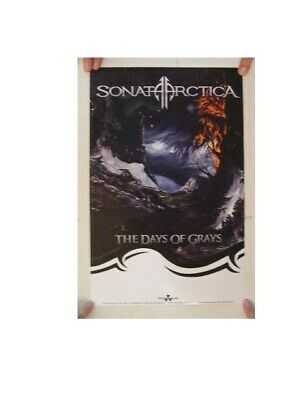 Sonata Arctica Poster The Days Of Grays Mint