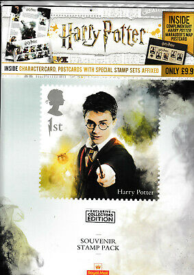 Gb 2018 Harry Potter A4 Size Royal Mail Souvenir Stamp Pack