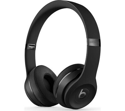 Beats by Dr. Dre Solo3 Wireless Headphones - Matte Black- Brand New