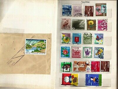 Japan 90 Mostly Used Stamps+Nepal 8 Stamps All  In Good Condition