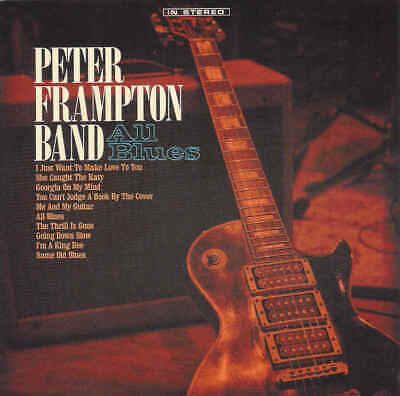 PETER FRAMPTON BAND - All Blues - 2019 CD